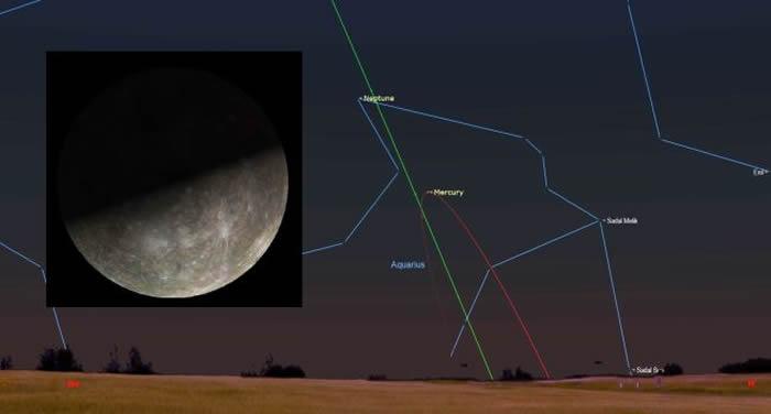 2月10日水星东大距 迎来绝佳观测时机