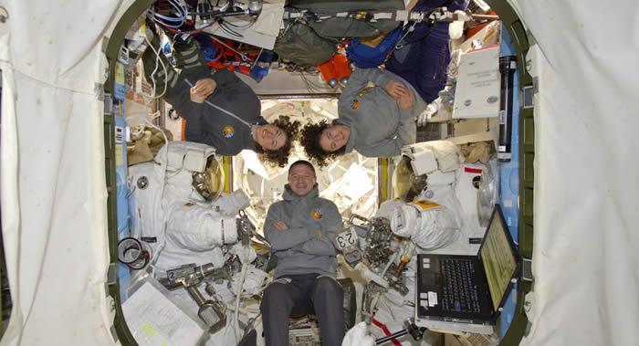 国际空间站美国航天员安德鲁·摩根可能会创纪录进行第八次太空行走