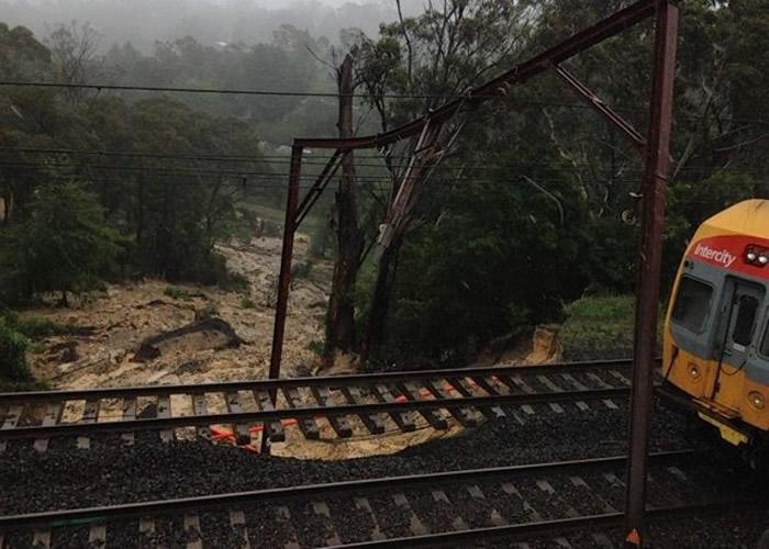 澳洲悉尼4日降雨近400毫米 浇熄巨大山火火头