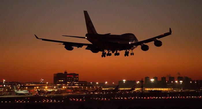 英国航空公司波音747-436客机借风势创下由美国纽约飞往英国伦敦的亚音速最快纪录