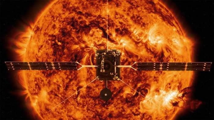 """欧美太空总署合作探日 太阳卫星""""太阳轨道载具(SolO)""""升空"""