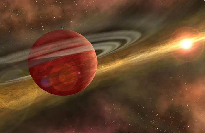 """天文学家发现一颗""""婴儿巨行星""""2MASS 1155-7919 b 质量是木星的十倍"""