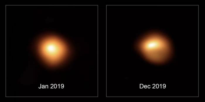 左为2019年1月份拍摄,右为2019年12月拍摄
