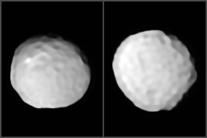 """天文学家拍摄了迄今为止最清晰的""""高尔夫球小行星""""智神星(Pallas)的照片"""