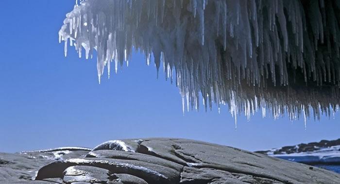 阿根廷气象专家:南极气温在升至创纪录高点后开始回复正常