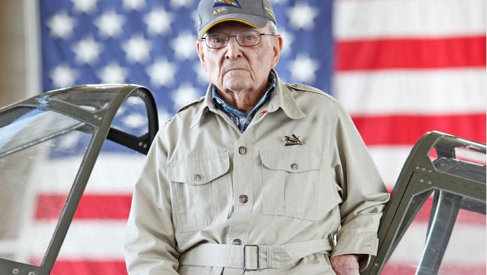 二战美国飞虎队最后一名成员Frank Losonsky去世 终年99岁