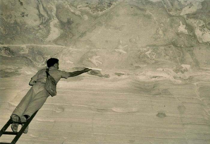 恐龙能够倒立行走?古生物学家揭开澳大利亚摩根山洞穴顶部的恐龙足迹化石谜团