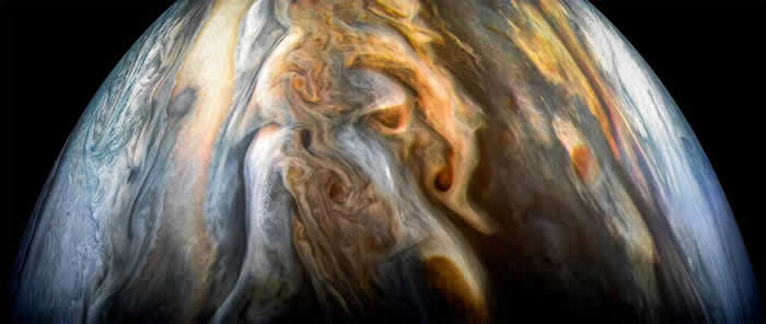 NASA朱诺号任务提供关于木星大气中水量的第一个科学结果