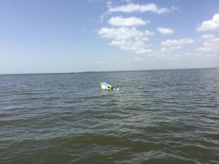 澳洲昆士兰男子小船失去动力在海中漂流 德国牧羊犬为救主带着油箱跳入水中游了11小时