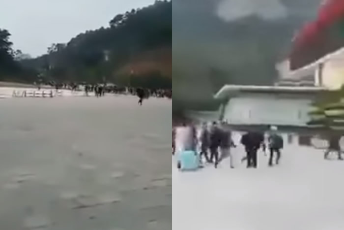 """谣言!""""广西人大逃亡""""影片在网络疯传 法新社事实查证中心打假"""