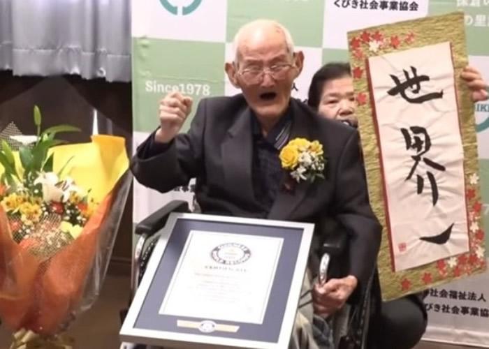 全球最长寿男人瑞!日本新泻县老翁渡边智哲离世 享年112岁