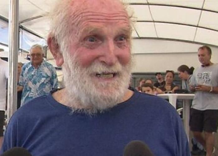 澳洲81岁老翁Bill Hatfield独自不停站环球航行8个月