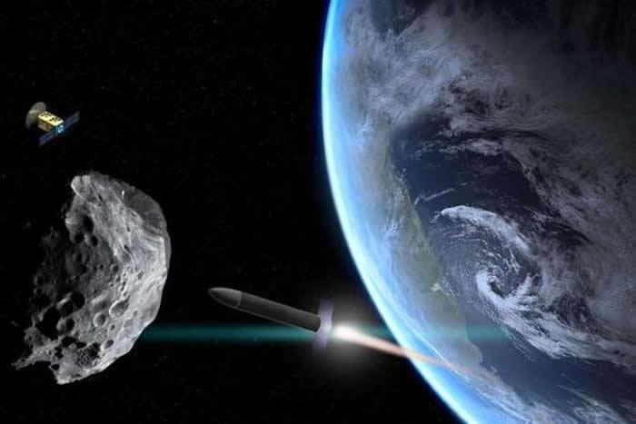 《宇航学报》论文探讨能使撞向地球的小行星偏转方向的方案
