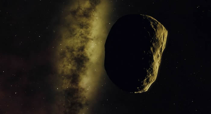 4月29日编号为52768(1998 OR2)的小行星将达到最接近地球的位置