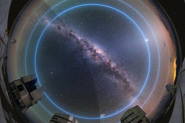 新研究表明引进26000颗新的巨型卫星星座可能会对地面天文学观测产生重大影响