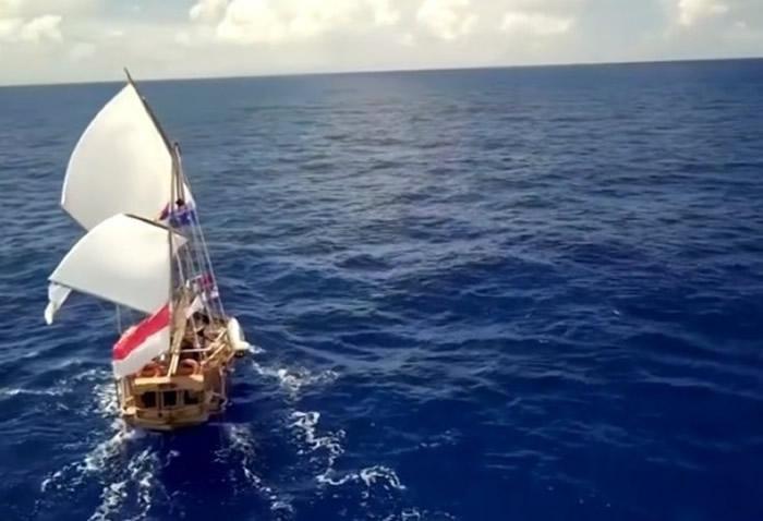 澳洲悉尼回教组织重建500年前望加锡人古商船 重现当年航海路线助回教徒寻根
