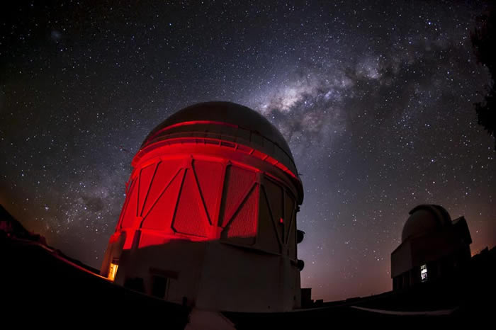 """""""暗能量测量""""(DES)项目的科学家寻找太阳系第九大行星时意外发现139颗新小行星"""
