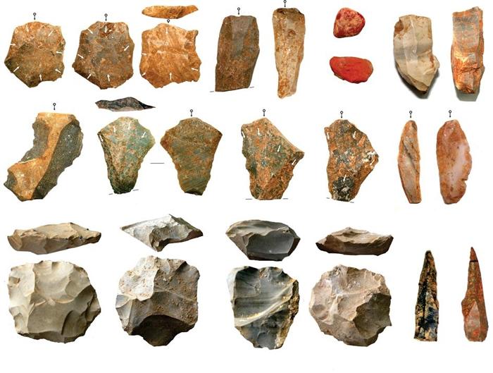 研究人员报告在印度中部松河(Son River)河谷达巴(Dhaba)考古遗址发掘出了大量石器。 他们发现这些石器从大约8万年前开始持续存在于考古纪录中,显示当