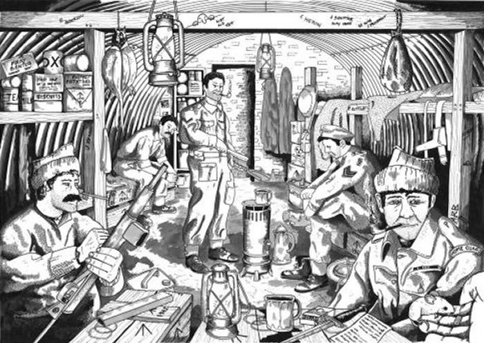 """英国苏格兰伐木工人发现二战""""邱吉尔军队""""所用地堡"""
