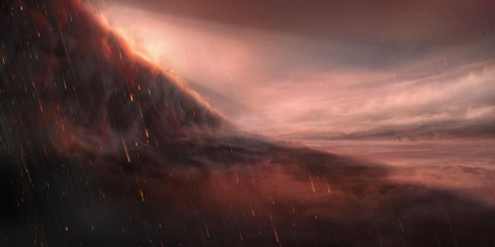 天文学家发现气温高达可熔化金属的2400度的系外行星Wasp-76b 天上会下铁雨