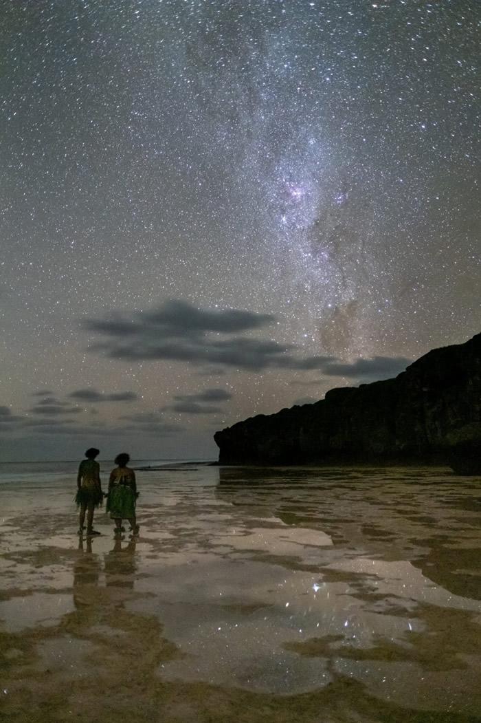 """太平洋岛国纽埃成为首个""""黑暗夜空国家"""" 璀璨星空传承天文知识"""