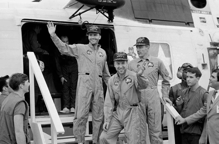 """新网站""""Apollo 13 in Real Time""""实时提供阿波罗13号飞行的历史记录视频片段和录音"""