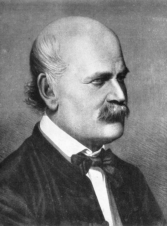 匈牙利医生伊兹纳. 塞默维斯是最早提出消毒做法的先驱,他主张洗手可以改善医疗质量,却被斥为荒诞不经。 PHOTOGRAPH BY GL ARCHIVE, ALA