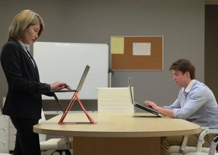 """美国公司推出一款概念来自日式折纸的手提电脑""""MOFT Z"""""""