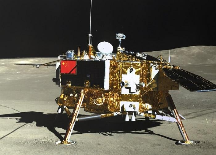 图为嫦娥四号着陆器。