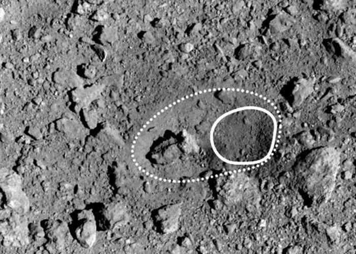 龙宫小行星表面人造陨石坑比模拟实验大7倍 反映表面非常脆弱
