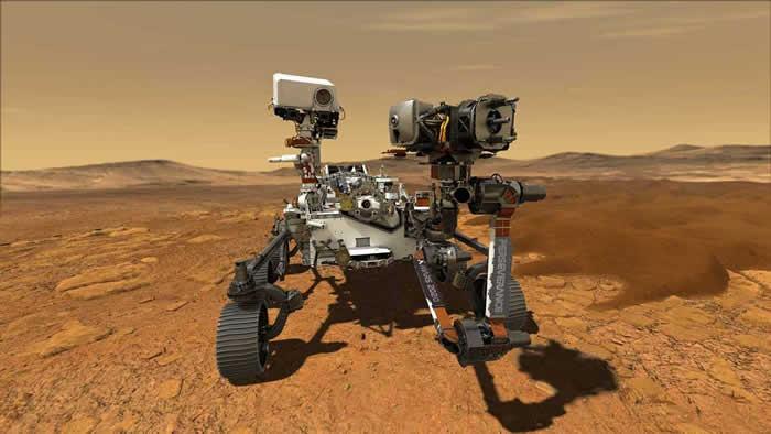 """美国宇航局将发射下一个火星探测器""""火星毅力漫游者"""""""