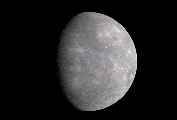 《Astrophysical Journal Letters》:离太阳最近的水星冰量惊人 热量或扮演重要角色