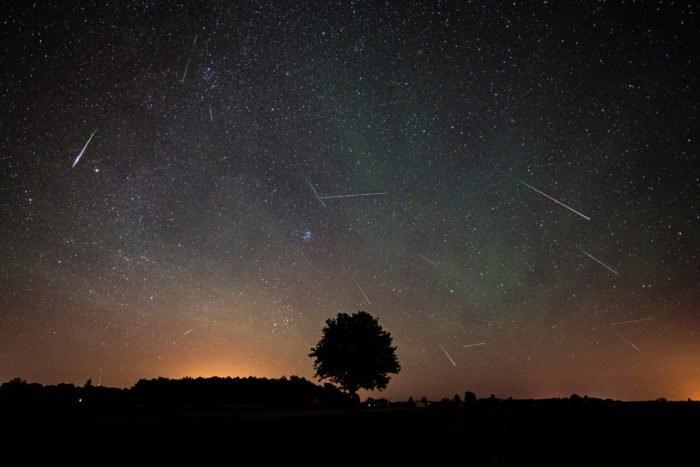 2020年4月22日年度天琴座流星雨极大期
