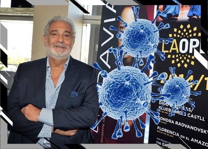 世界三大男高音之一的西班牙传奇男高音普拉西多·多明戈Placido Domingo确诊新冠肺炎