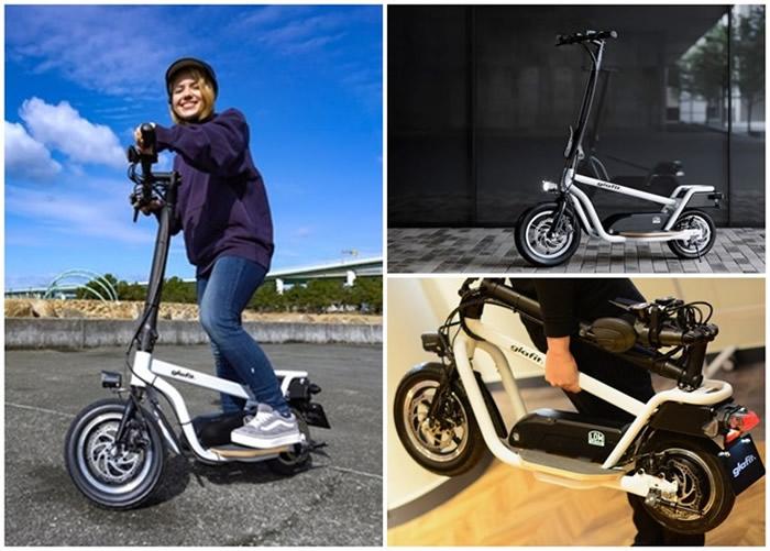 """日本设计师针对城市人需求推出名为""""X-Scooter LOM""""的短程代步工具"""