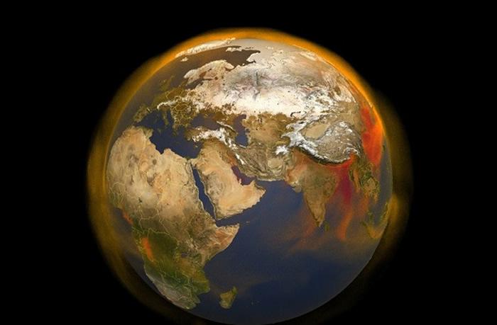 为更好追踪甲烷来源以及其在大气中累积和移动过程 NASA打造全新3D地图工具