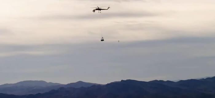 SpaceX的载人龙飞船降落伞试验失败 用于将宇航员送上国际空间站