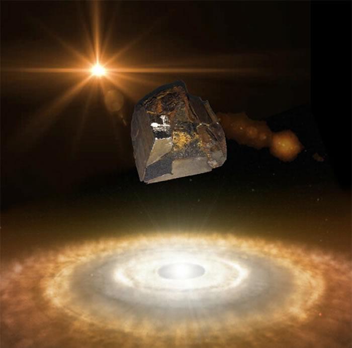 科学家首次在陨石中发现超导物质