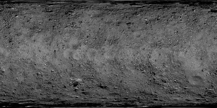 美国宇航局发布小行星贝努(Bennu)的高清全貌图
