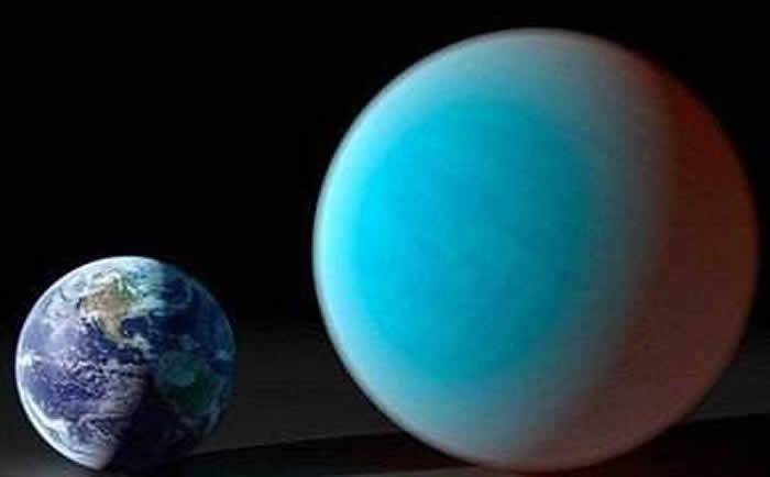 存在水蒸汽和云层的系外行星
