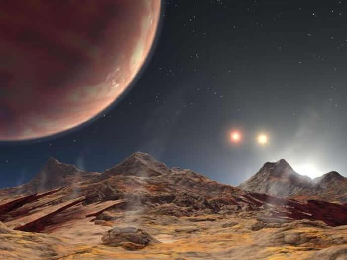 """神秘行星拥有""""3颗太阳"""""""