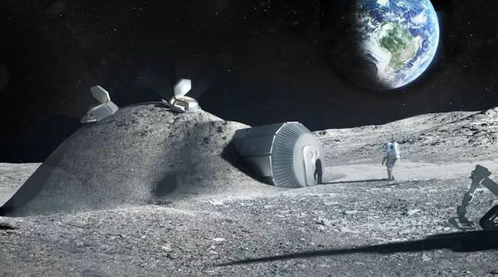 宇航员有望能使用自己的尿液来建造月球栖息地