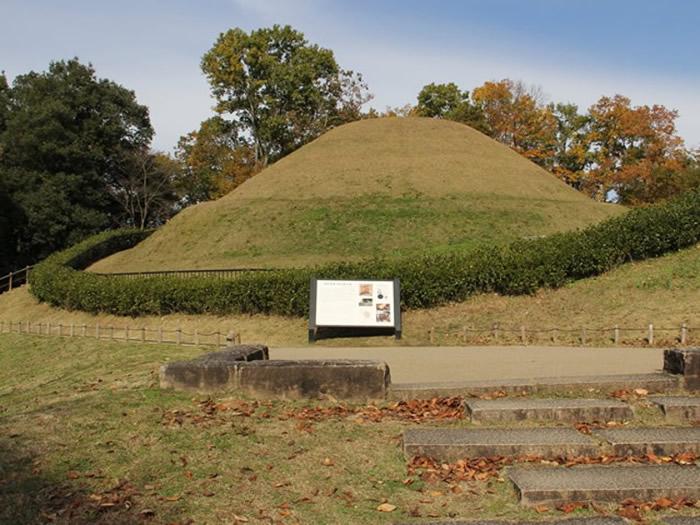 高松冢古坟附近已建为公园。