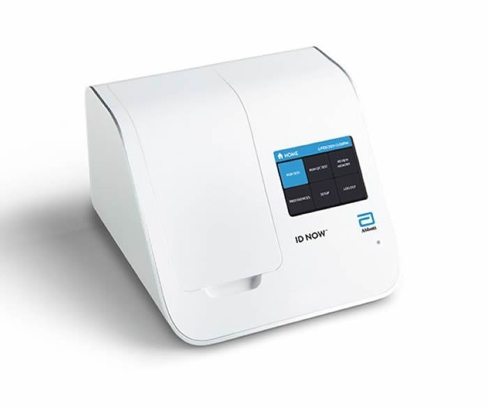 美国雅培生产可携式的新型冠状病毒检测装置 最快5分钟知结果