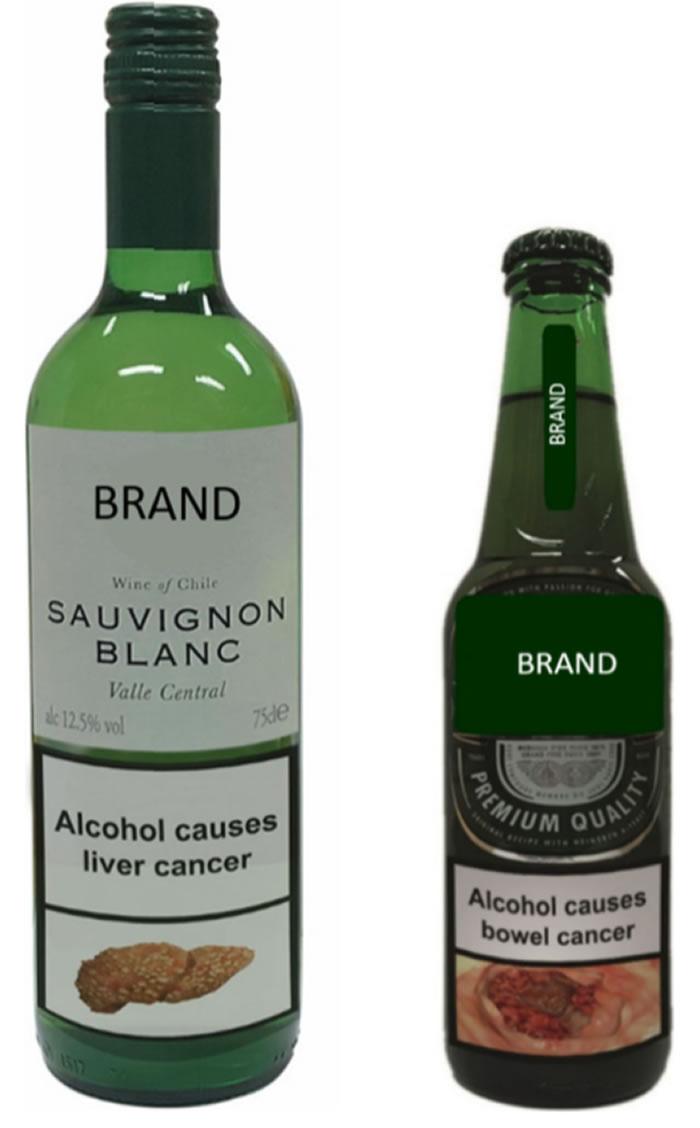 图文并用的健康警示标签或能减少人们对酒精饮品和高热量密度零食的摄入