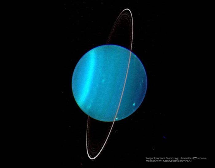 天王星转轴为何异常倾斜?巨大天体碰撞