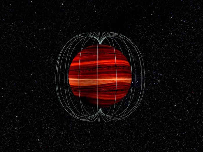 褐矮星2MASS J1047 + 21的大气上层刮着劲风