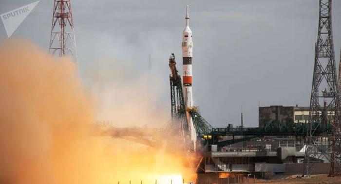 载有3名宇航员的联盟MS-16飞船已经与国际空间站对接
