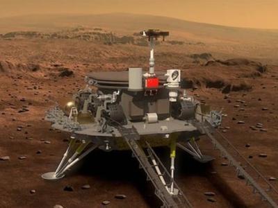 """4月24日""""中国航天日"""":中国首次火星探测任务命名为天问一号"""