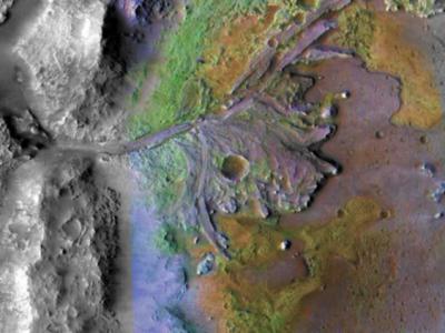 """NASA""""毅力号""""漫游车的目标着陆点可能是寻找火星生命迹象的理想"""